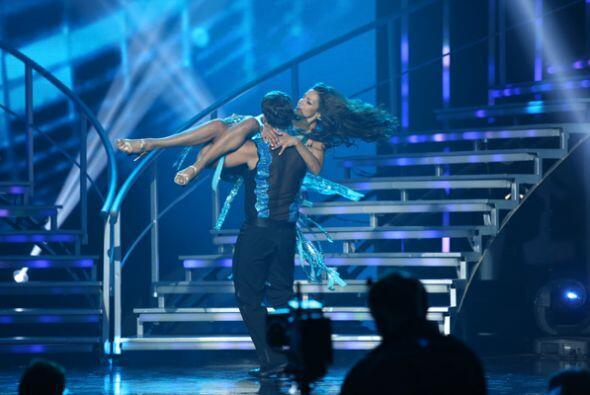 Nathalia y Yul Burkle se movieron al ritmo de disco. A los jueces no les...