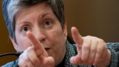La jefa de la seguridad de Estados Unidos, Janet Napolitano, aseguró que...