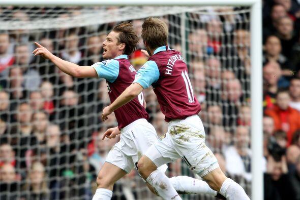 Parker, hombre clave en el West Ham, abrió el marcador en la vict...