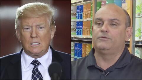 Pequeña empresa de pintura le gana una demanda a Trump, que tendrá que p...