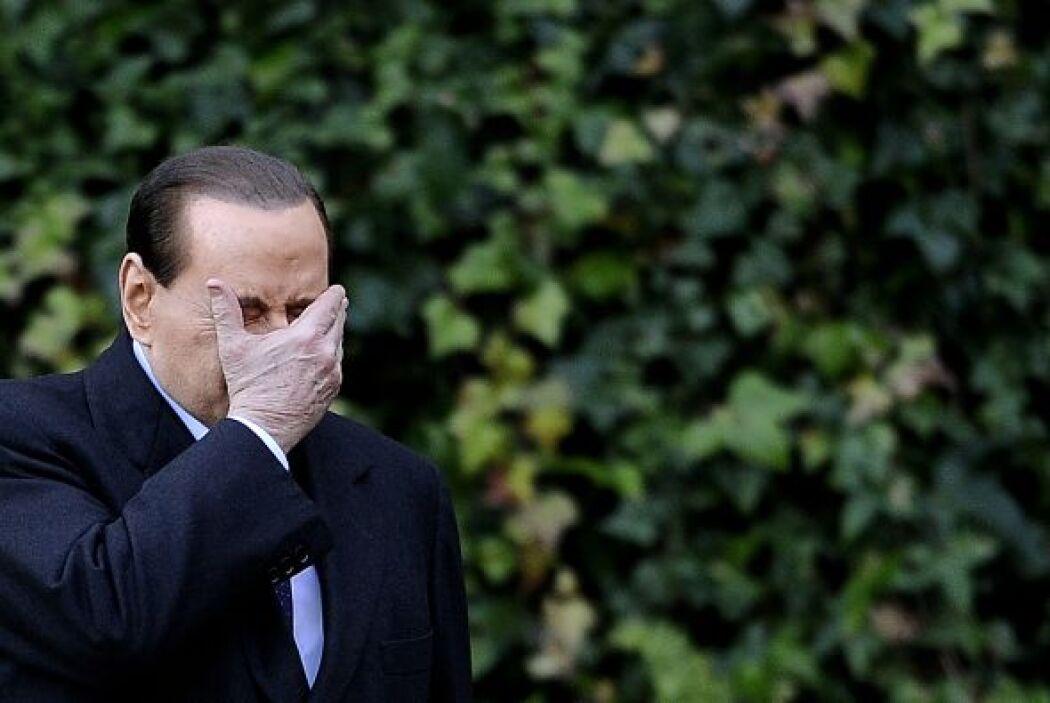 Silvio Berlusconi, a sus 74 años, cuenta con una fama de vividor. Sin em...