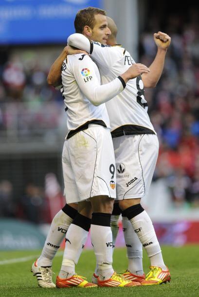Eso no fue todo, pues Valencia ganó 3-0 y Soldado consigui&oacute...