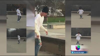 Justin Bieber patinando en La Villita