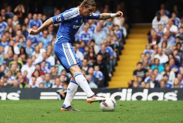 El primer tanto lo anotó Fernando Torres.