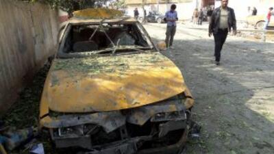 Se registraron daños materiales en vehículos y viviendas cercanas al lug...