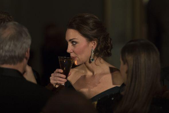 La duquesa se robó la atención de los 600 invitados.