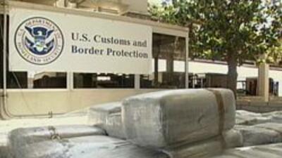 Cantidad de drogras detenidad en la frontera