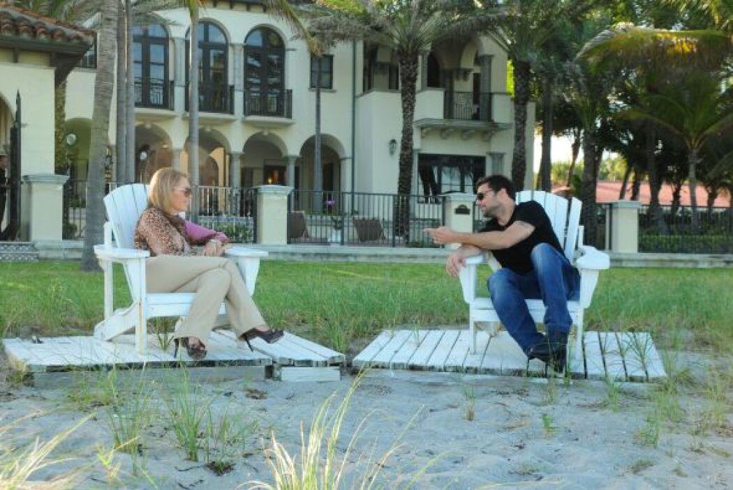 La entrevista fue toda una experiencia para elequipo periodístico de Aqu...