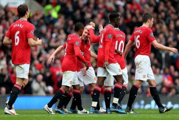 El marcador ya no cambiaría y el United sumó tres puntos valiosos en su...