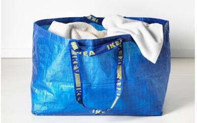 La clásica bolsa de Ikea.