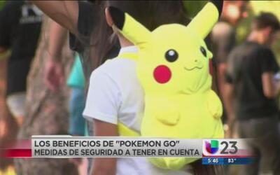 """Los beneficios de jugar """"Pokemon Go"""""""