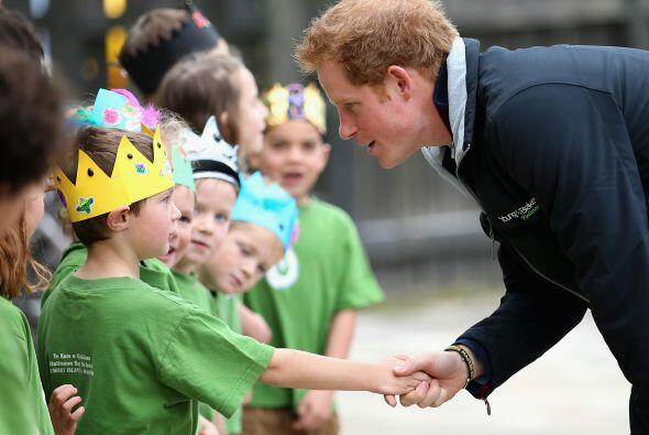 El príncipe William está de gira por Nueva Zelanda.