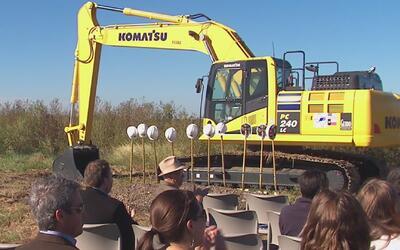 Comenzó la construcción de una nueva subestación del Departamento del Sh...