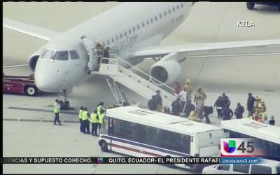 Autoridades investigan amenazas a aviones de Houston