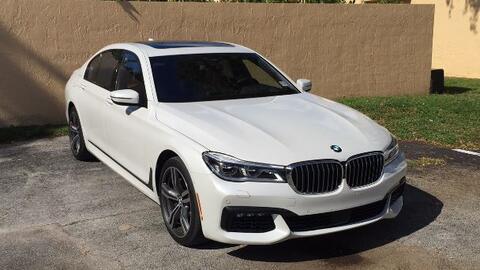 El BMW Serie 7 2016 es una oficina móvil ultra moderna