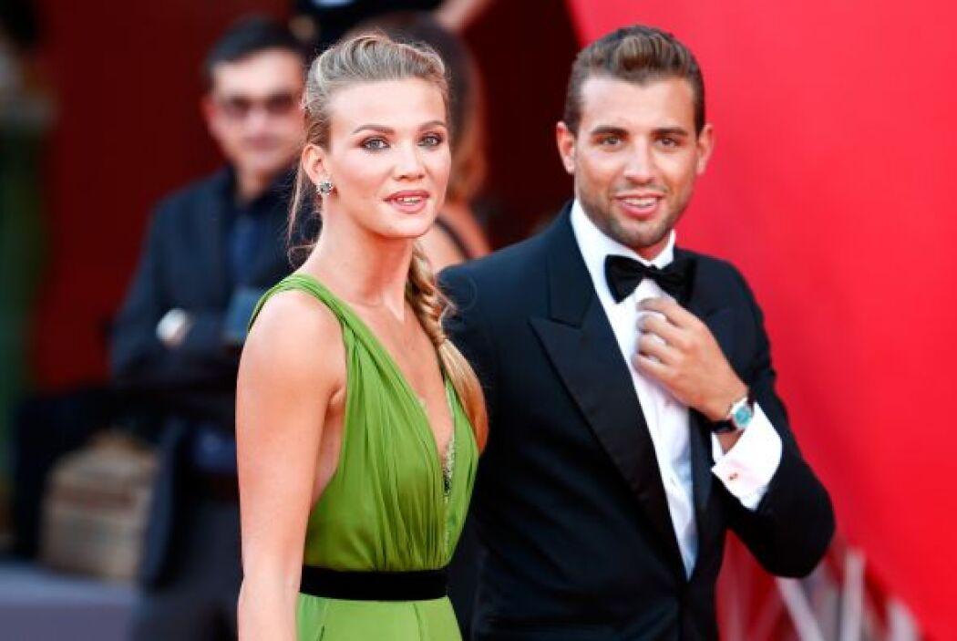 Fiammetta Cicogna y Tommy Chiabra. ¿El verde es el nuevo color de moda?