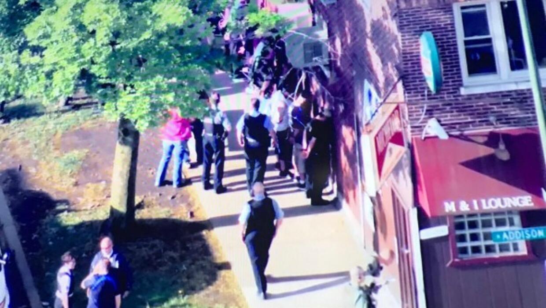 Situación SWAT en el barrio de Dunning termina de manera pacífica
