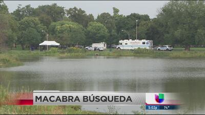 Drenan laguna de Garfield Park