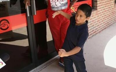 Niño salva su vida gracias al Karate