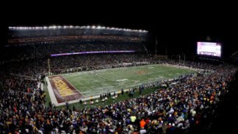 El TCF Bank Stadium será la casa temporal de los Vikings.