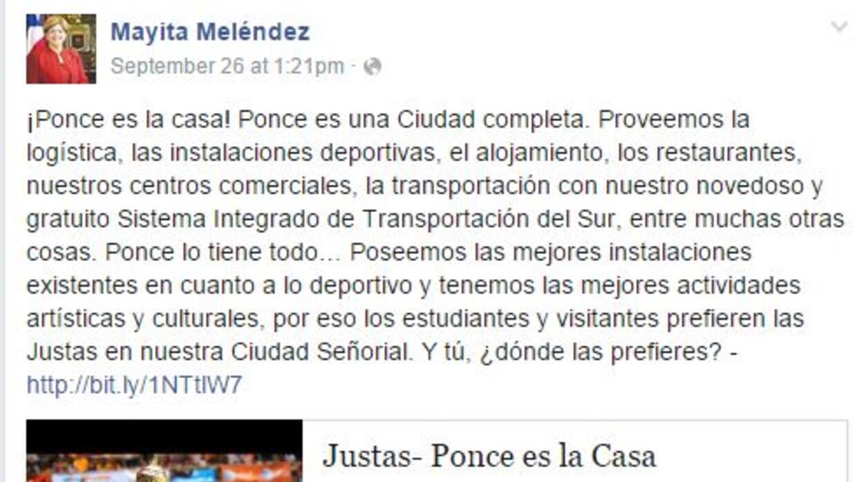 Lamentan cambio de las Justas de Ponce a Mayagüez