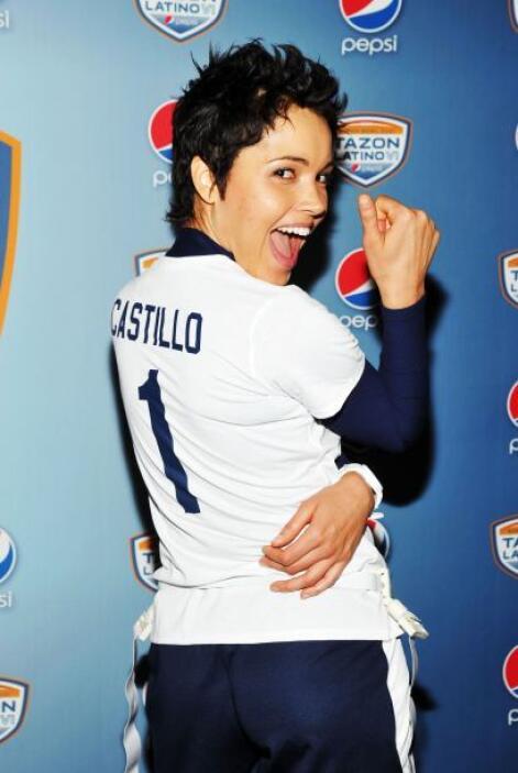 Otro deleite fue Susie Castillo...