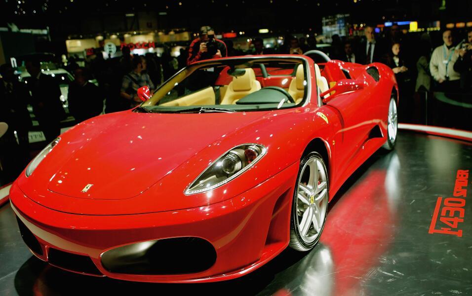 El Ferrari F430 Spider fue presentado en 2009, su nombre puede relaciona...