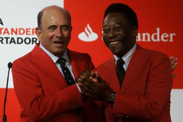 Representante exclusivo de la Copa Libertadores promocionando el torneo...