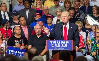 Los signos que muestran cómo ha cambiado el discurso migratorio de Trump