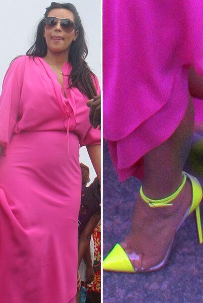 Lucirlos con prendas en colores vivos como el 'fucsia' se convierte en u...