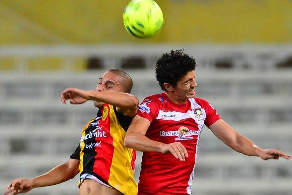Jorge Hernández, el volante de los Leones Negros ha destacado con...
