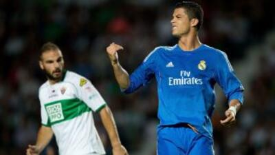 Cristiano marcó los dos goles madridistas, pero el segundo, por la vía d...