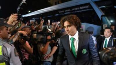 México llegó a Brasil por la tarde y ya se encuentra en su hotel de conc...