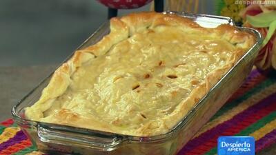 Receta de Pastelón de Carne con el chef Pepín en Despierta América