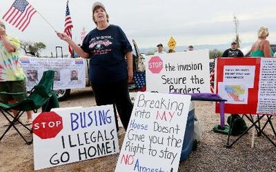 Habitantes unidos a favor de niños detenidos en la frontera