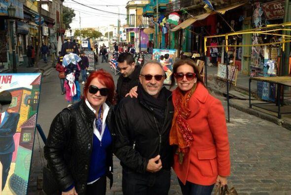 Lili Estefan aprovechó sus vacaciones para ir de viaje a Argentina, dond...