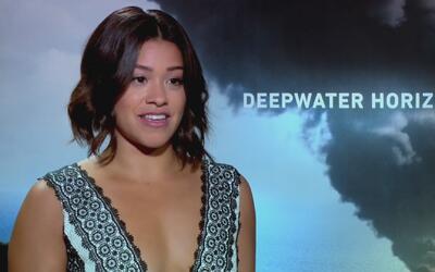 Gina Rodriguez protagoniza 'Deep Water Horizon' junto a Mark Wal