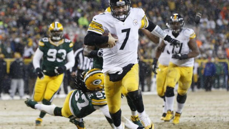 Los Steelers siguen con vida rumbo a los playoffs (AP-NFL).