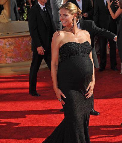 Heidi KlumEl embarazo siempre da un brillo especial a las mujeres que ge...