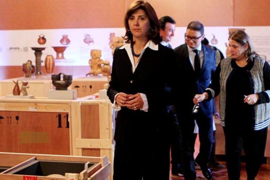 El proceso de repatriación del patrimonio corrió a cargo de la Canciller...