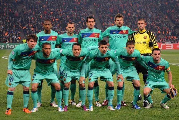Barcelona tenía que cerrar el trámite ante el conjunto ucraniano.