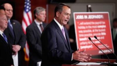 El presidente de la Cámara, John Boehner, anunció el jueves un acuerdo c...
