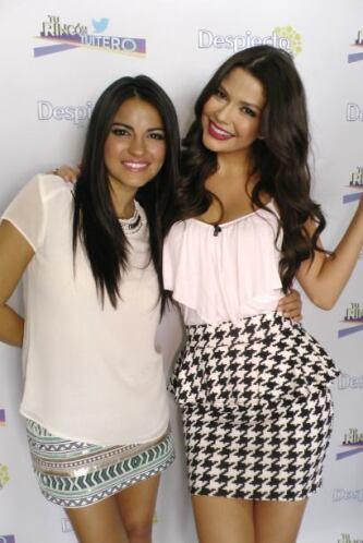 Maite también visitó el Rincón Tuitero de Ana Patricia. Dos bellas chica...