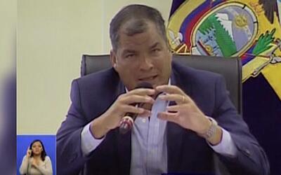 """""""Lo escencial debe ser garantizado por el Estado"""", Presidente de Ecuador"""