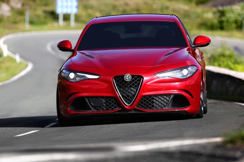 Alfa Romeo Giulia Quadrifoglio 2017