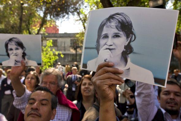 Aristegui pidió como condición que se rectificara lo que s...