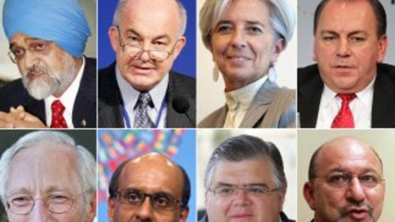 Además de Christine Lagarde y Agustín Carstens, han comenzado a salir a...