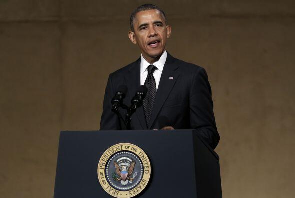 Este jueves Obama inauguró de manera emotiva el Museo del 11 de Septiemb...