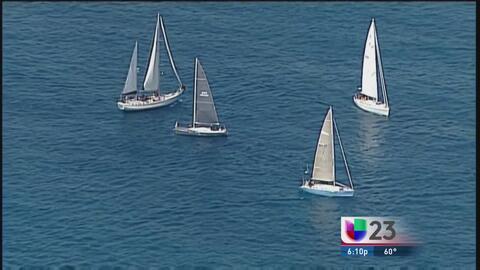 Decenas de yates van rumbo a Cuba en inédita regata