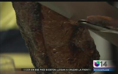 Los churrascos son una comida exótica y típica de Brasil